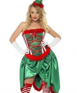 XM330-12 Costum cu tematica de Craciun - Costume de craciunita - Haine > Haine Femei > Costume Tematice > Costume de craciunita