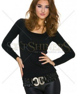 Bluza Addictive Look Black - Bluze -