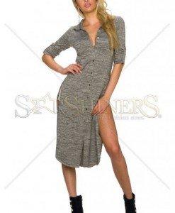 Camasa Fashionably Late Brown - Camasi -