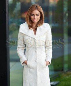 Palton LaDonna Elegant Look Nude - Paltoane -