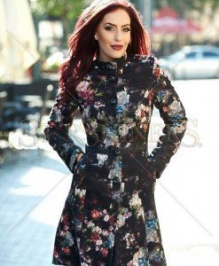 Palton LaDonna Flourished Spirit Black - Paltoane -