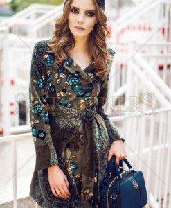 Palton PrettyGirl Sensorial Green - Paltoane -