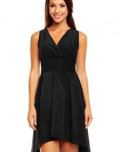 Black Sassy Ruched Top Petite Dress - Dresses -