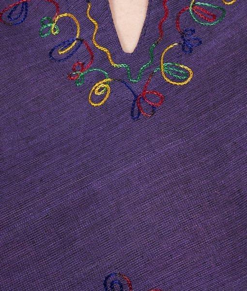 Bluza bumbac Purple – Colectii – Hippie & Etnic