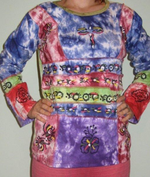 Bluza bumbac Purple Love 11 – Colectii – Hippie & Etnic