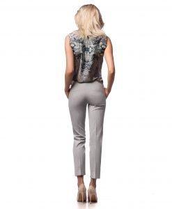 Bluza eleganta multicolora 1239-1 - BLUZE SI CAMASI - Bluze