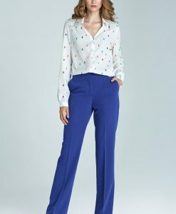 Boot-Cut Ultimate Blue Trousers - Trousers -