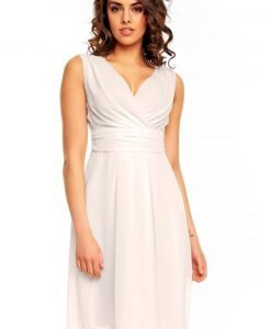 Off White Sweety Pinned-up Scarlet Dress - Dresses -