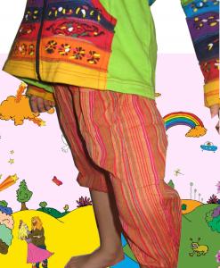 Pantaloni bumbac copii - Veselie - Copii - Pantaloni
