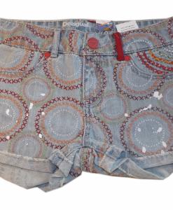 Pantaloni denim Desigual Baratono 7-8 ani - Colectii - Desigual Kids