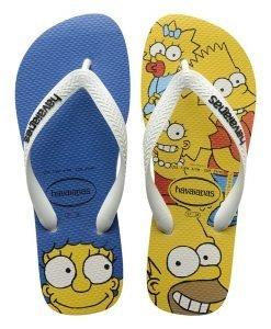 Slapi plaja Havaianas Simpsons - Colectii - Slapi Havaianas