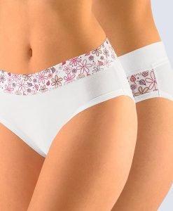 2 pack chilot dama Flowers - Lenjerie pentru femei - Clasici