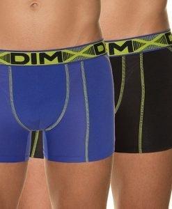 2pack boxeri barbatesti DIM Comfort AIR - Lenjerie pentru barbati - Boxeri monocolori