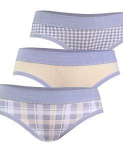 3 pack chilot fetite Grey - Lenjerie pentru femei - Chiloti Miss
