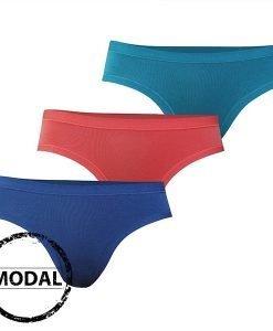 3pack chilot clasic diferite culori - Lenjerie pentru femei - Chiloti Miss