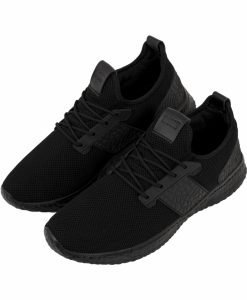 Adidasi Light Runner Advanced negru-negru Urban Classics - Incaltaminte urban - Urban Classics>Incaltaminte urban