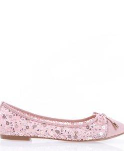 Balerini dama Cevele roz - Incaltaminte Dama - Balerini Dama