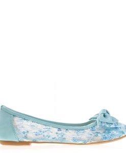 Balerini dama D191 azul - Incaltaminte Dama - Balerini Dama