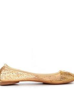 Balerini dama Dinah khaki - Promotii - Lichidare Stoc