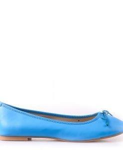 Balerini dama Gwen albastri - Incaltaminte Dama - Balerini Dama