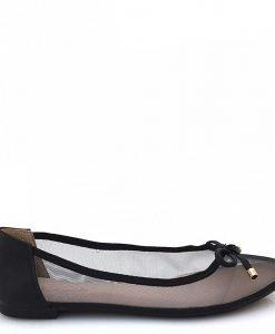 Balerini dama Luiza negri - Promotii - Lichidare Stoc