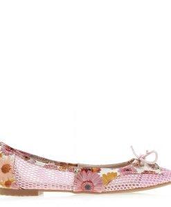 Balerini dama Nerissa roz - Incaltaminte Dama - Balerini Dama
