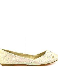 Balerini dama albi Florence - Promotii - Lichidare Stoc