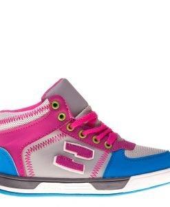Bascheti copii Sam gri roz - Incaltaminte Copii - Pantofi Sport Copii