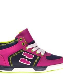 Bascheti copii Sam navy roz - Incaltaminte Copii - Pantofi Sport Copii