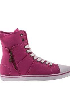 Bascheti dama Aden fucsia - Incaltaminte Dama - Pantofi Sport Dama