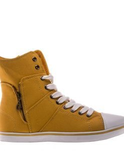 Bascheti dama Aden galbeni - Incaltaminte Dama - Pantofi Sport Dama