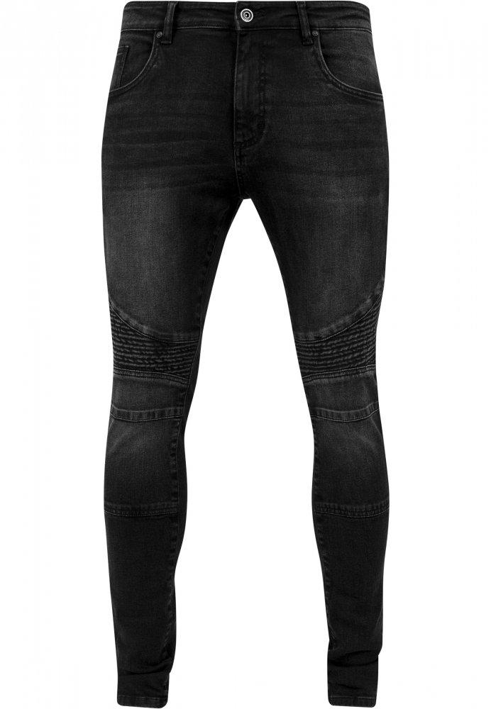 arata bine vanzare pantofi diferit cea mai bună vânzare Blugi Slim Fit Biker negru-washed Urban Classics Barbati, Urban ...