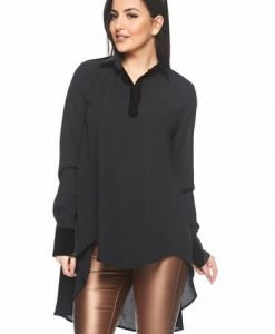 Bluza Ana Radu Love Dedication Black - Bluze -