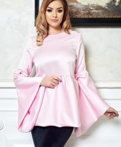 Bluza Ana Radu Lovely You Pink - Bluze -