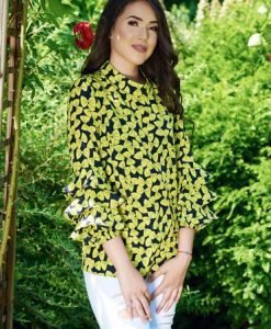 Bluza PrettyGirl Perfect Butterfly Yellow - Bluze -