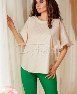 Bluza Veils Eleganta In Dungi - ROCHII -