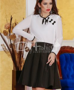 Bluza White Little Bows - Haine -