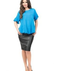 Bluza albastra lejera BIA - Bluze si topuri -