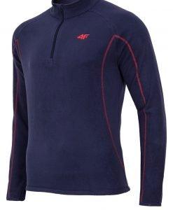 Bluza barbateasca Navy 4f din material fleece - Promotii - Promotiile saptamanii