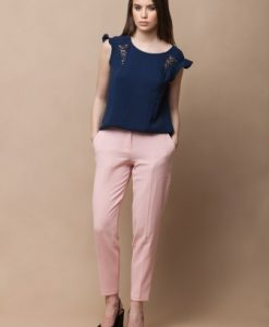 Bluza bleumarin fara maneci CSOLIA - Bluze si topuri -
