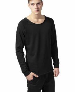 Bluza cu guler rotund long - Bluze cu guler rotund - Urban Classics>Barbati>Bluze cu guler rotund
