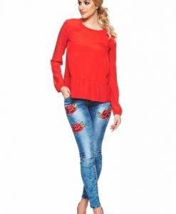 Bluza dama casual rosie StarShinerS - Bluze -