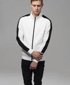 Bluza de trening alb-negru Urban Classics - Geci subtiri - Urban Classics>Barbati>Geci subtiri