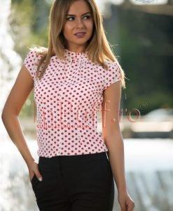Bluza de vara cu buline rosii - BLUZE -