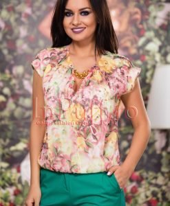 Bluza de vara imprimeu floral - BLUZE -