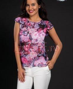 Bluza imprimeu floral - BLUZE -