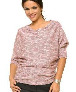 Bluza lejera din tricot BN09 roz - Outlet -