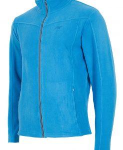 Bluza sport barbateasca Blue material fleece - Haine si accesorii - Hanorace jachete