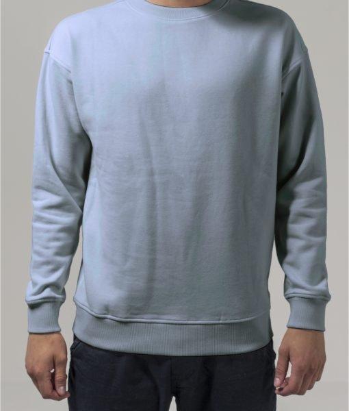 Bluza sport cu maneca lunga babyblue Urban Classics – Barbati – Urban Classics>Colectie noua>Barbati