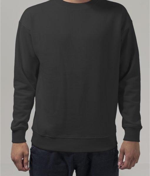 Bluza sport cu maneca lunga negru Urban Classics – Barbati – Urban Classics>Colectie noua>Barbati